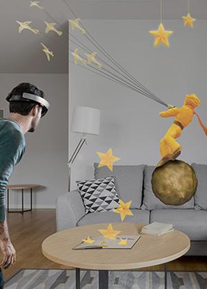 Microsoft Hololens: Little Prince