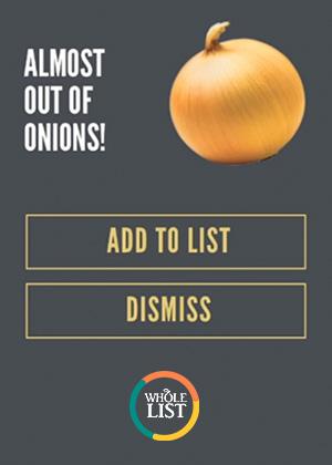 Whole Foods: Smart List